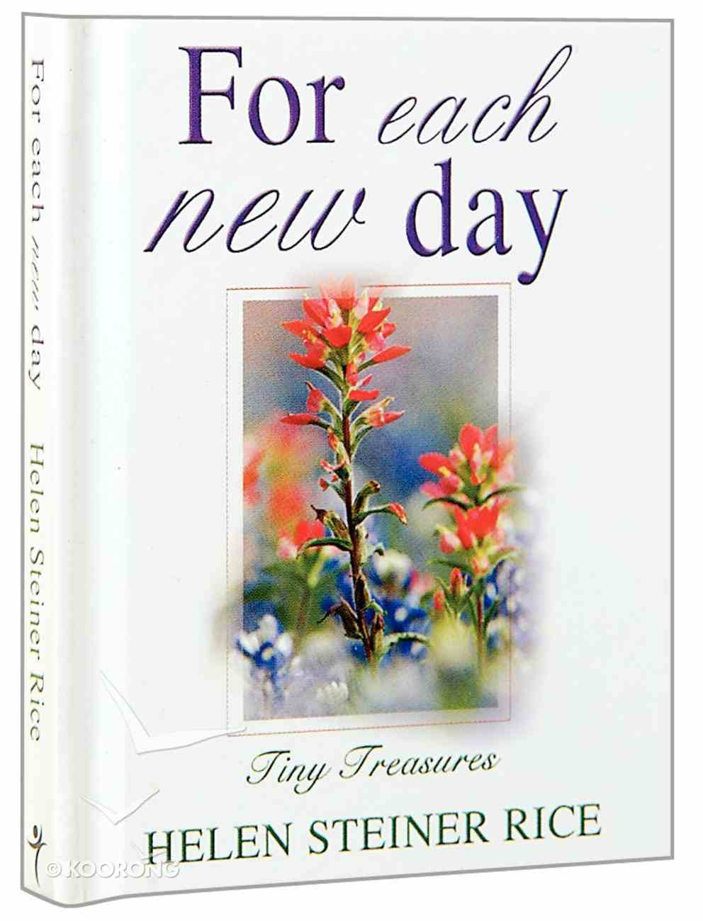 For Each New Day (Tiny Treasures Series) Hardback
