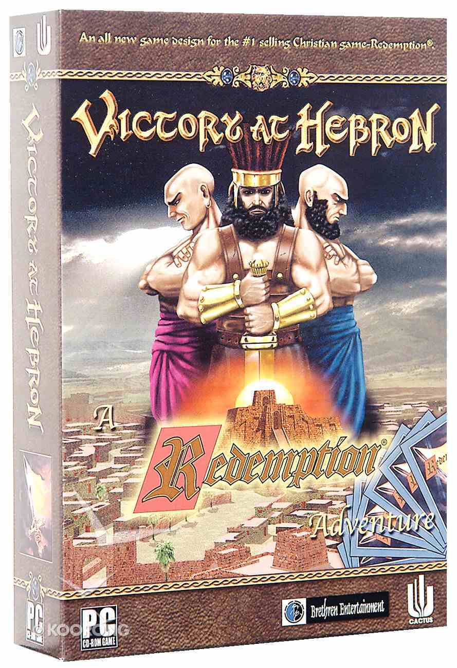Redemption: Victory At Hebron CDROM Game: Cgd806 (Redemption Card Game Series) CD-rom