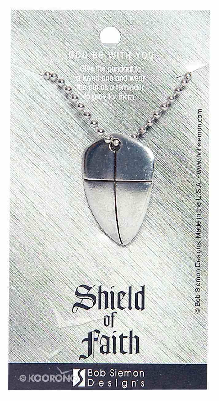 Pendant: Shield of Faith Large (Lead-free Pewter) Jewellery