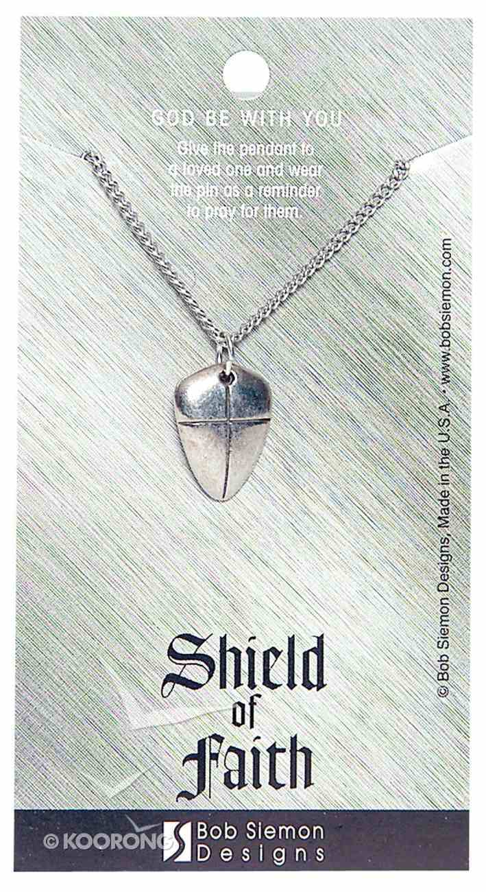 Pendant: Shield of Faith Small (Lead-free Pewter) Jewellery