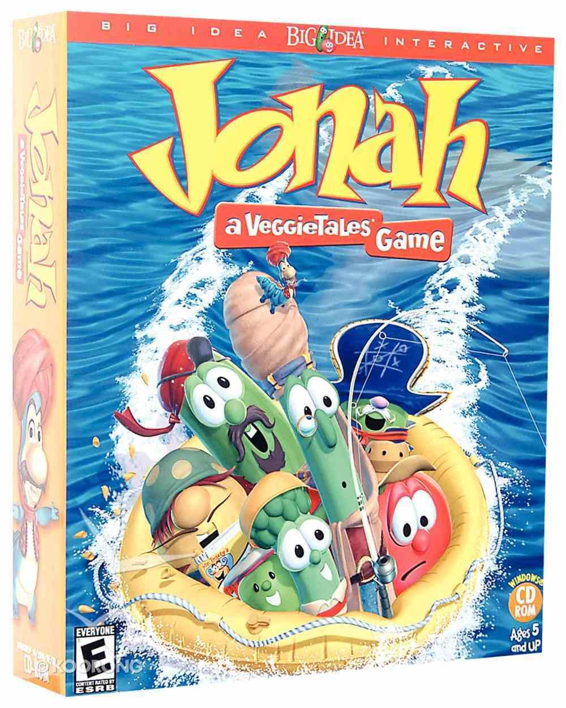Jonah a Veggie Tales Game CDROM Win CD-rom