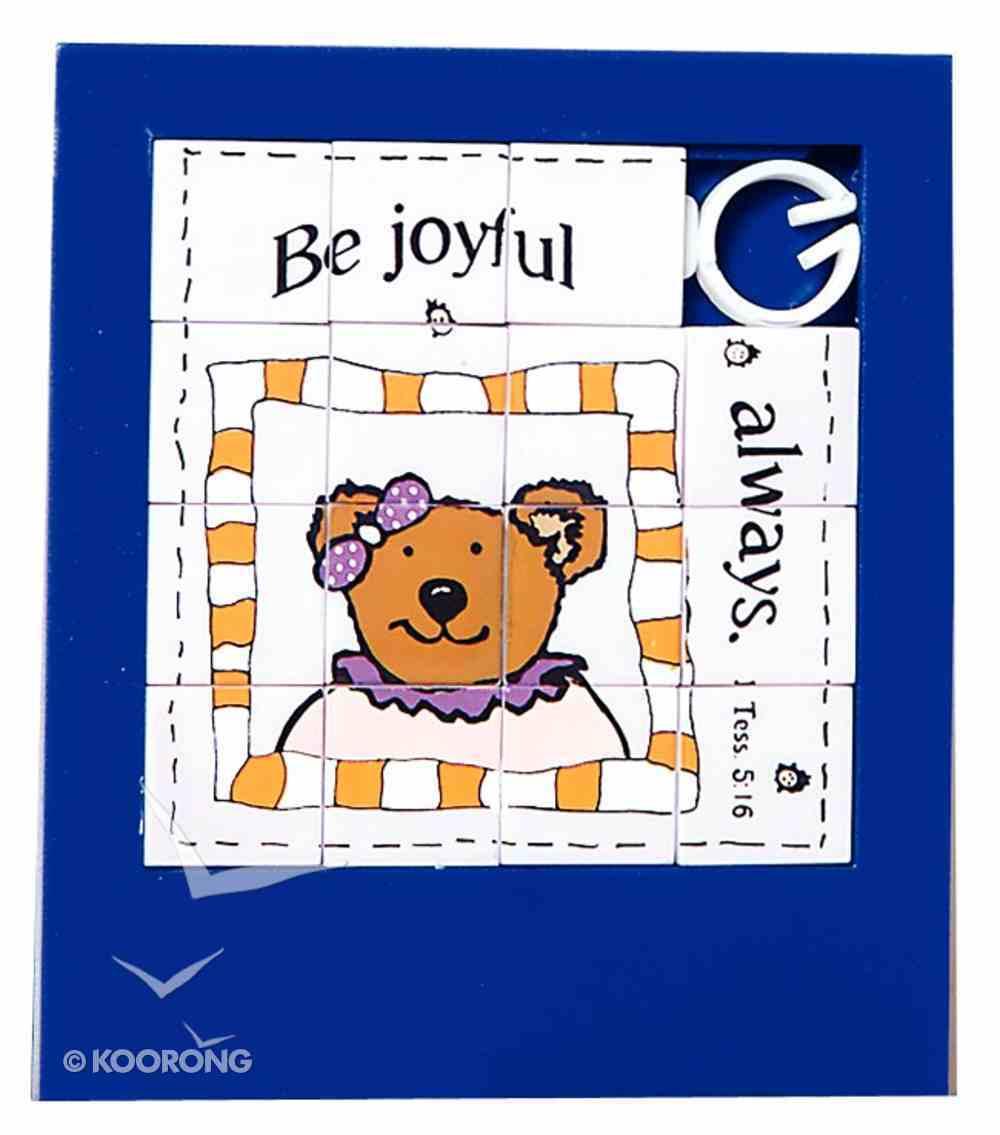Novelty Puzzle: Be Joyful Always Novelty