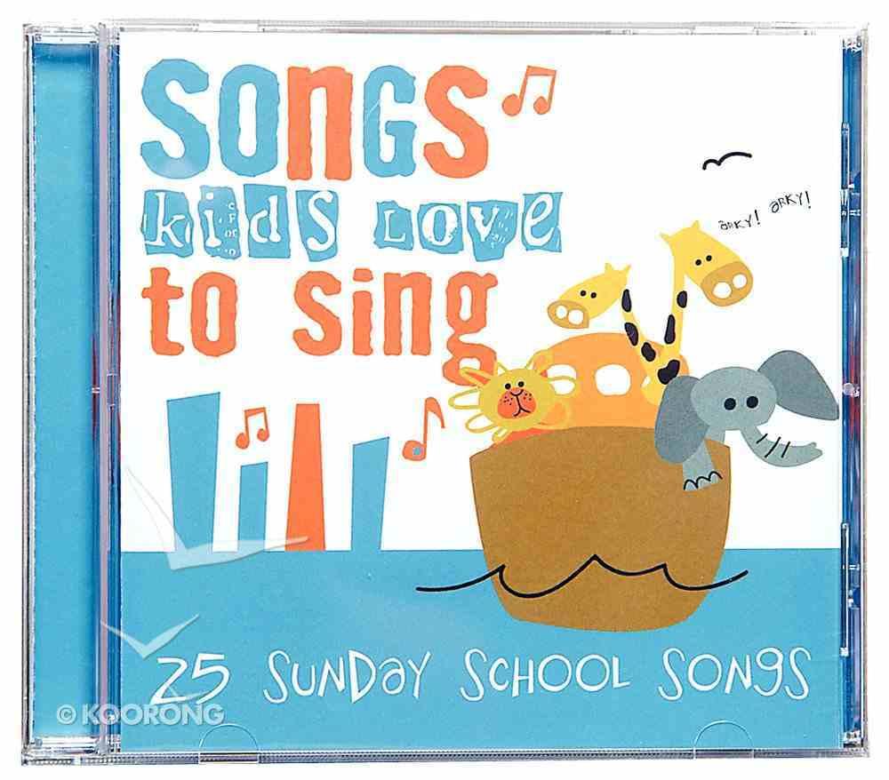 25 Sunday School Songs Kids Love to Sing CD