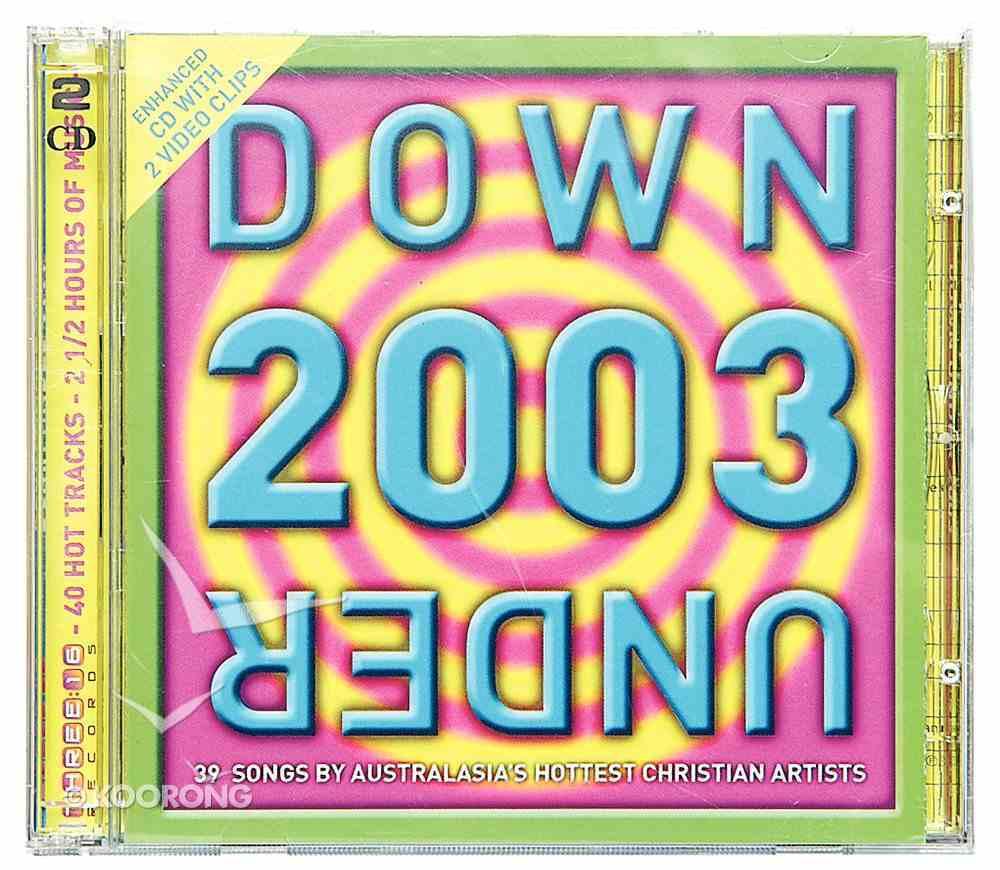 Down Under 2003 CD