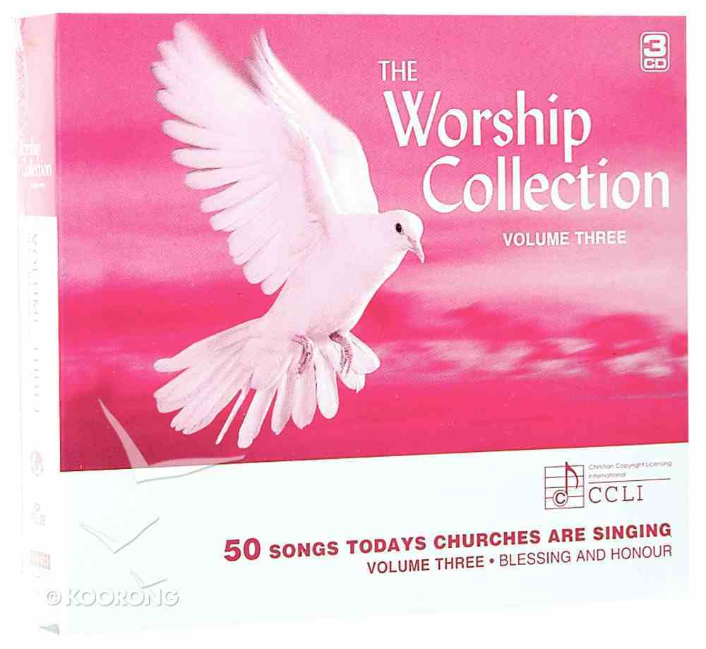 Blessing and Honour (3 CD Pack) (#03 in Worship Collection) Pack