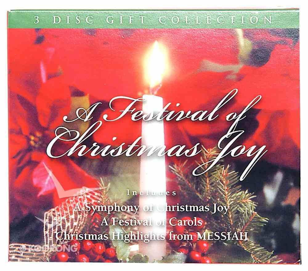 A Festival of Christmas Joy (3 Cd Pack) CD