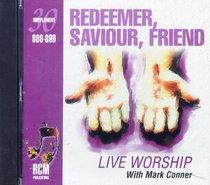 Album Image for Rcm Volume E: Supplement 30 Redeemer, Saviour, Friend (886-899) - DISC 1