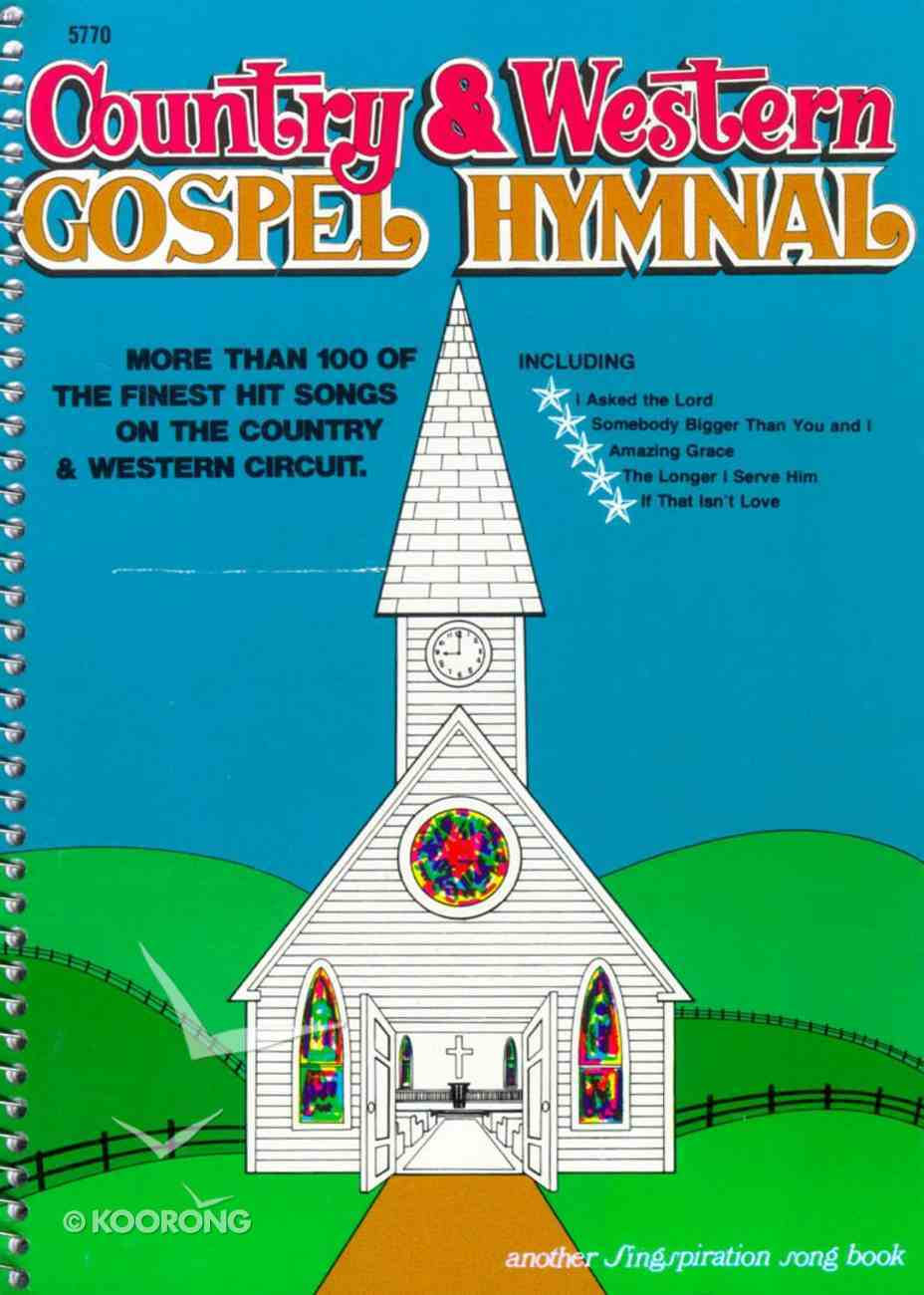 Country & Western Gospel Hymnal 1 (Music Book) Spiral