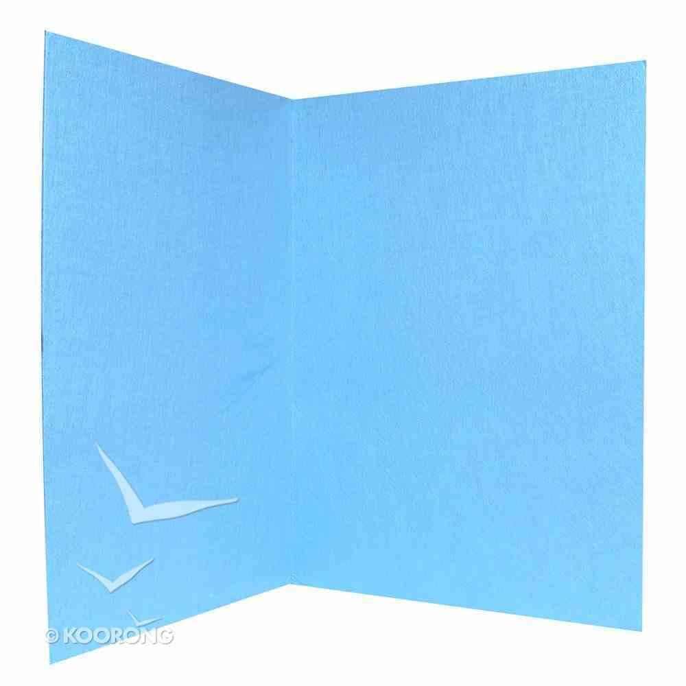 "Lukens Large Blue Board Mounted 32"" X 48"" Flannelgraph"