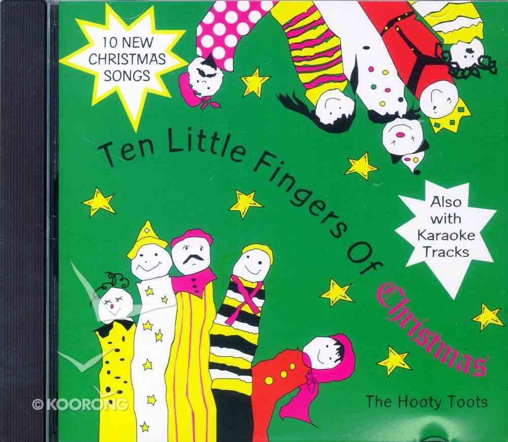 Ten Little Fingers of Christmas CD