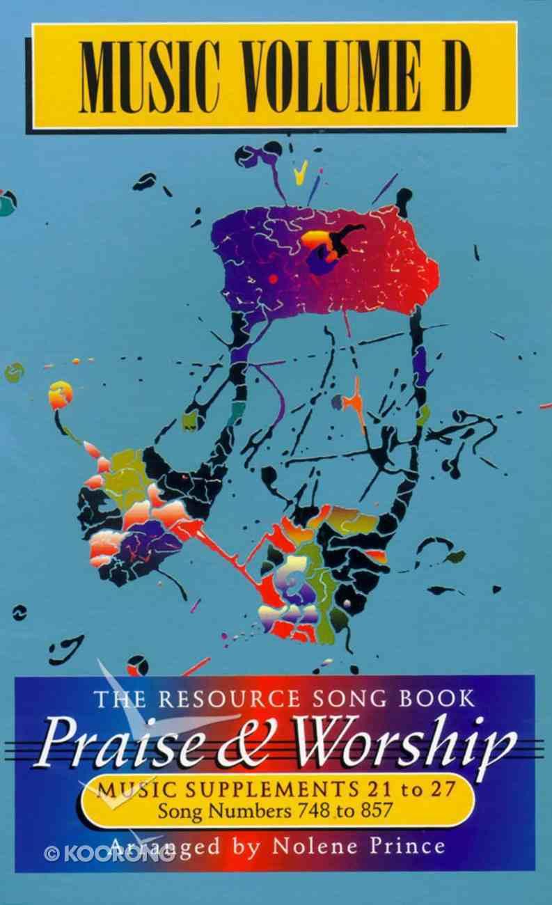 Rcm Volume D Music Book (Supp 21-27) Spiral
