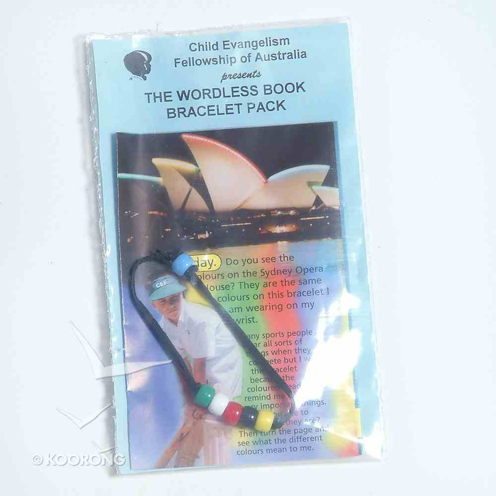 Wordless Tract & Bracelet 10 Pack (Made Up) Booklet