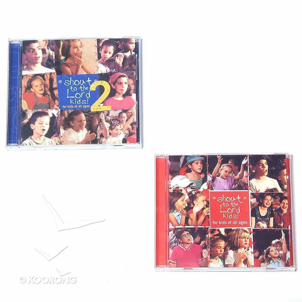 Shout to the Lord Kids 1 & 2 Pack CD