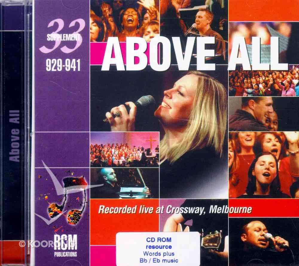 Rcm Supp 33 Words and B Flat/E Flat Music on CDROM CD-rom