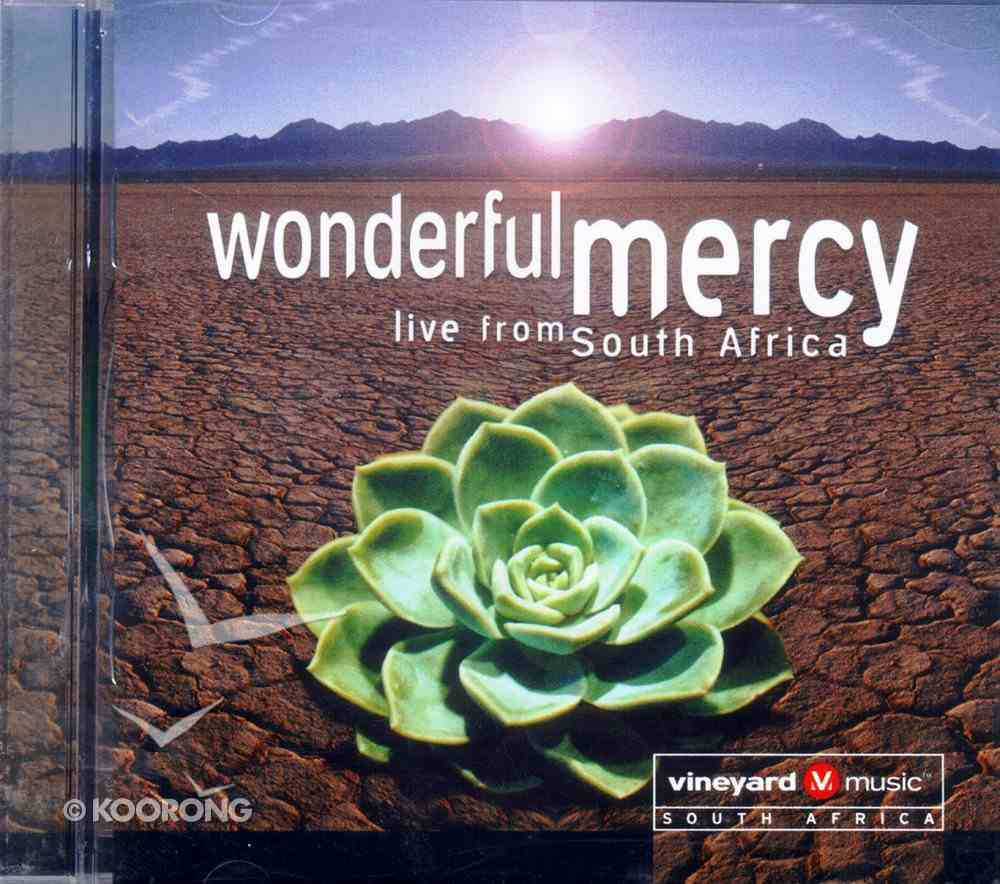 Wonderful Mercy: Live From South Africa CD