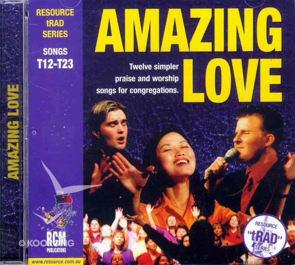Rcm Traditional Series #02: Amazing Love CD