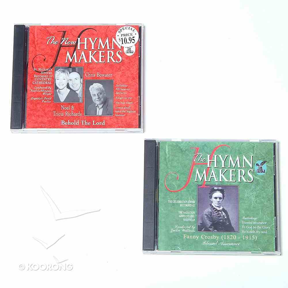 Blessed Assurance & Behold the Lord (Hymn Makers Series) CD