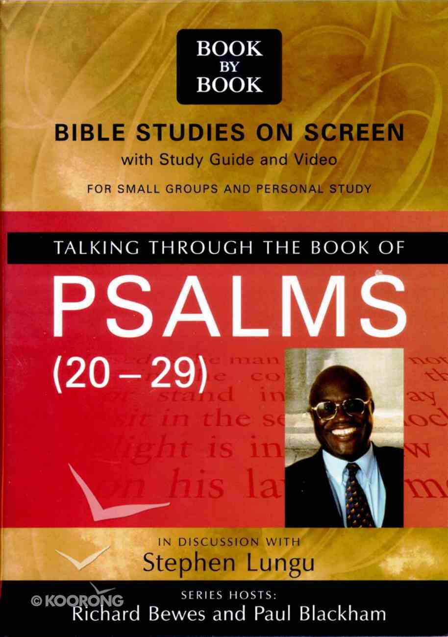 Talking Through the Book of Psalms (Pal) (Book By Book Series) Pack