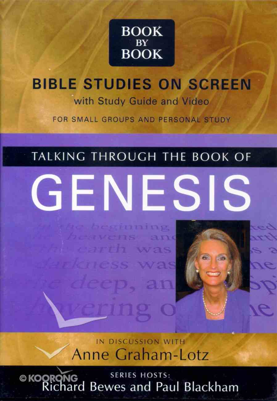 Talking Through the Book of Genesis (Pal) (Book By Book Series) Pack