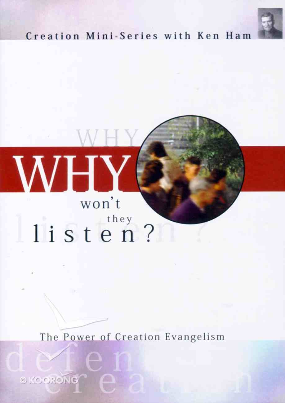 Creation Mini Series #05: Why Won't They Listen DVD