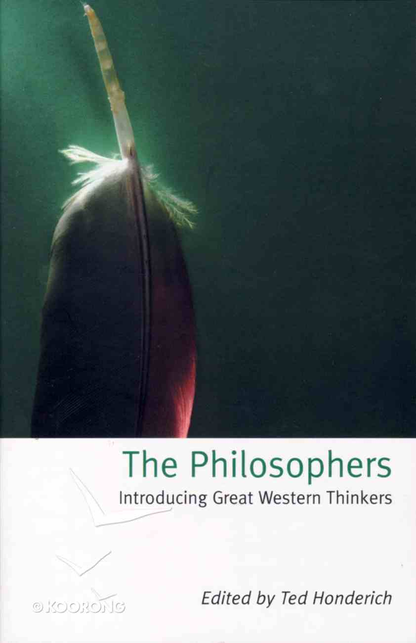 Philosophers Introducing Great Western Thinkers Paperback