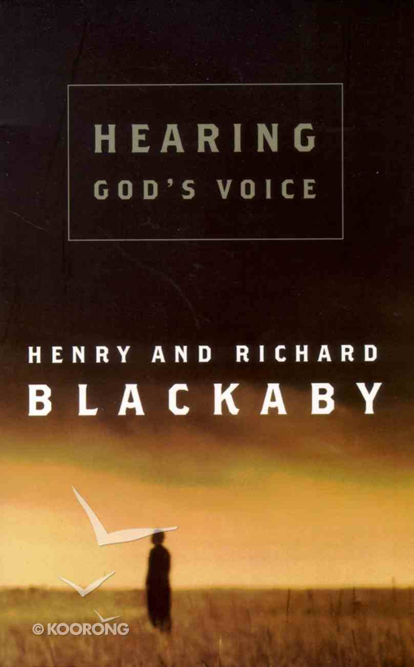 Hearing God's Voice Paperback