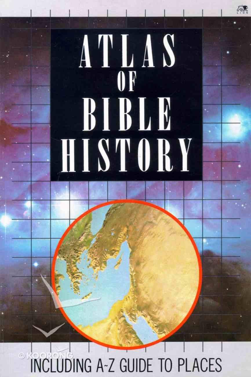 Atlas of Bible History Paperback