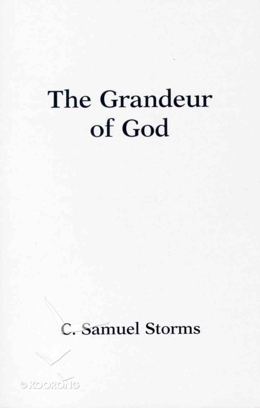 The Grandeur of God Paperback