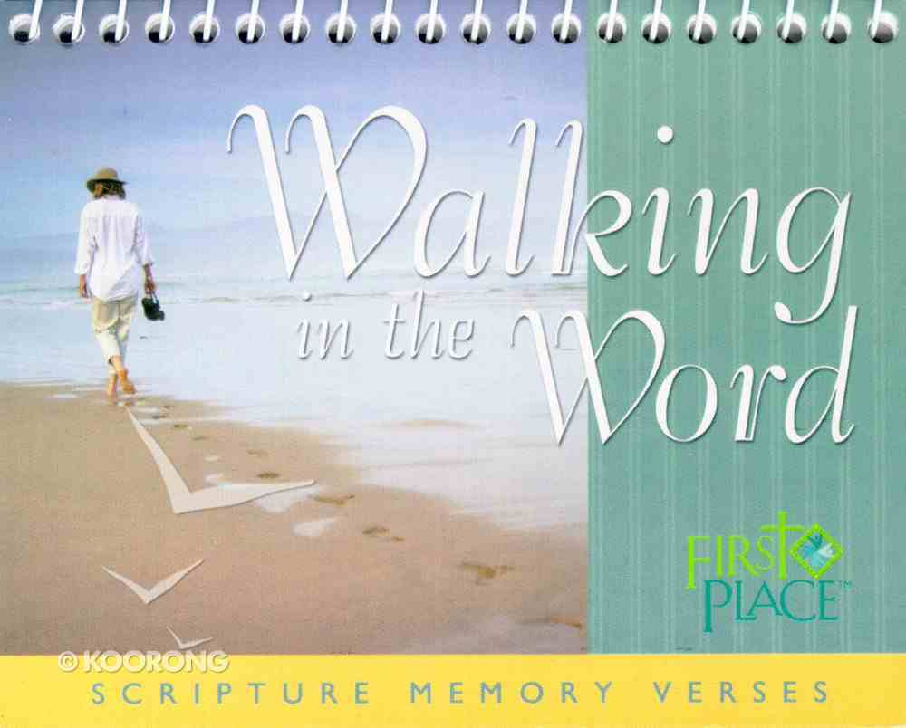 First Place: Scripture Memory Verses (Walking In The Word) Spiral