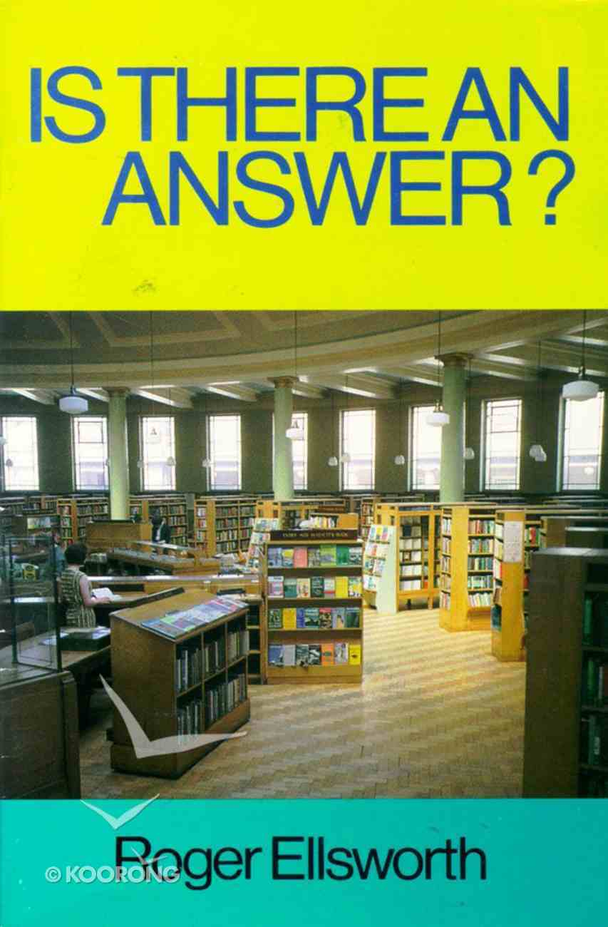 Is There An Answer? Paperback