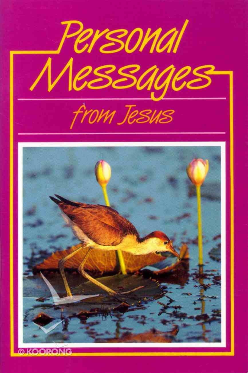 Personal Messages From Jesus Paperback