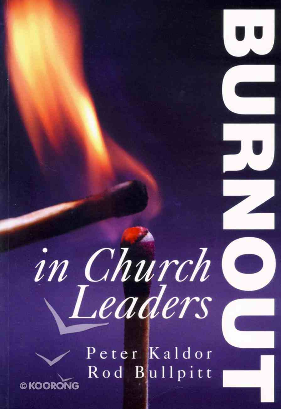 Burnout in Church Leaders Paperback