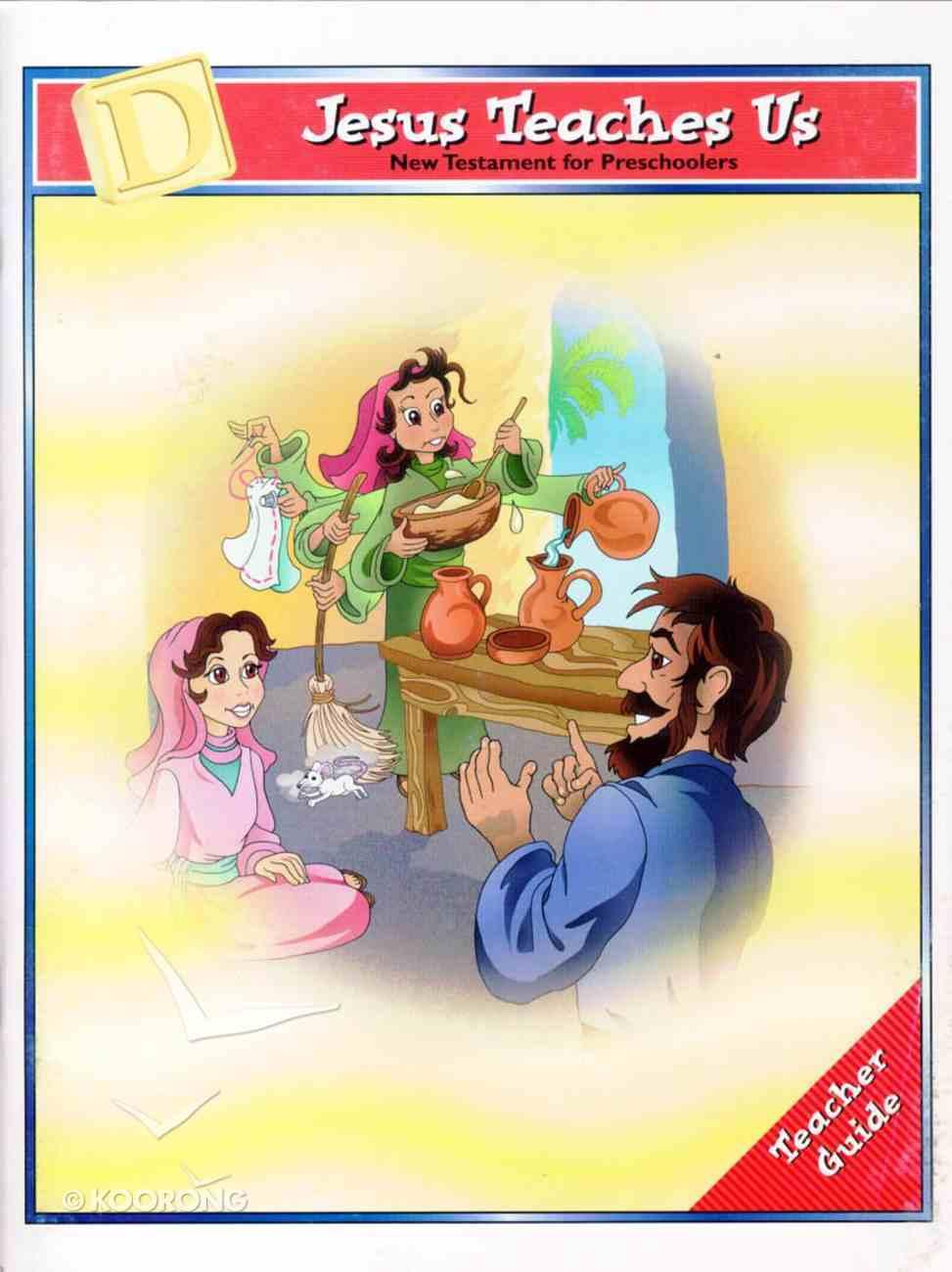 Dlc Preschool: NT, Unit D Ages 2-5 (Teacher) (Discipleland Preschool, Ages 3-5 Series) Paperback