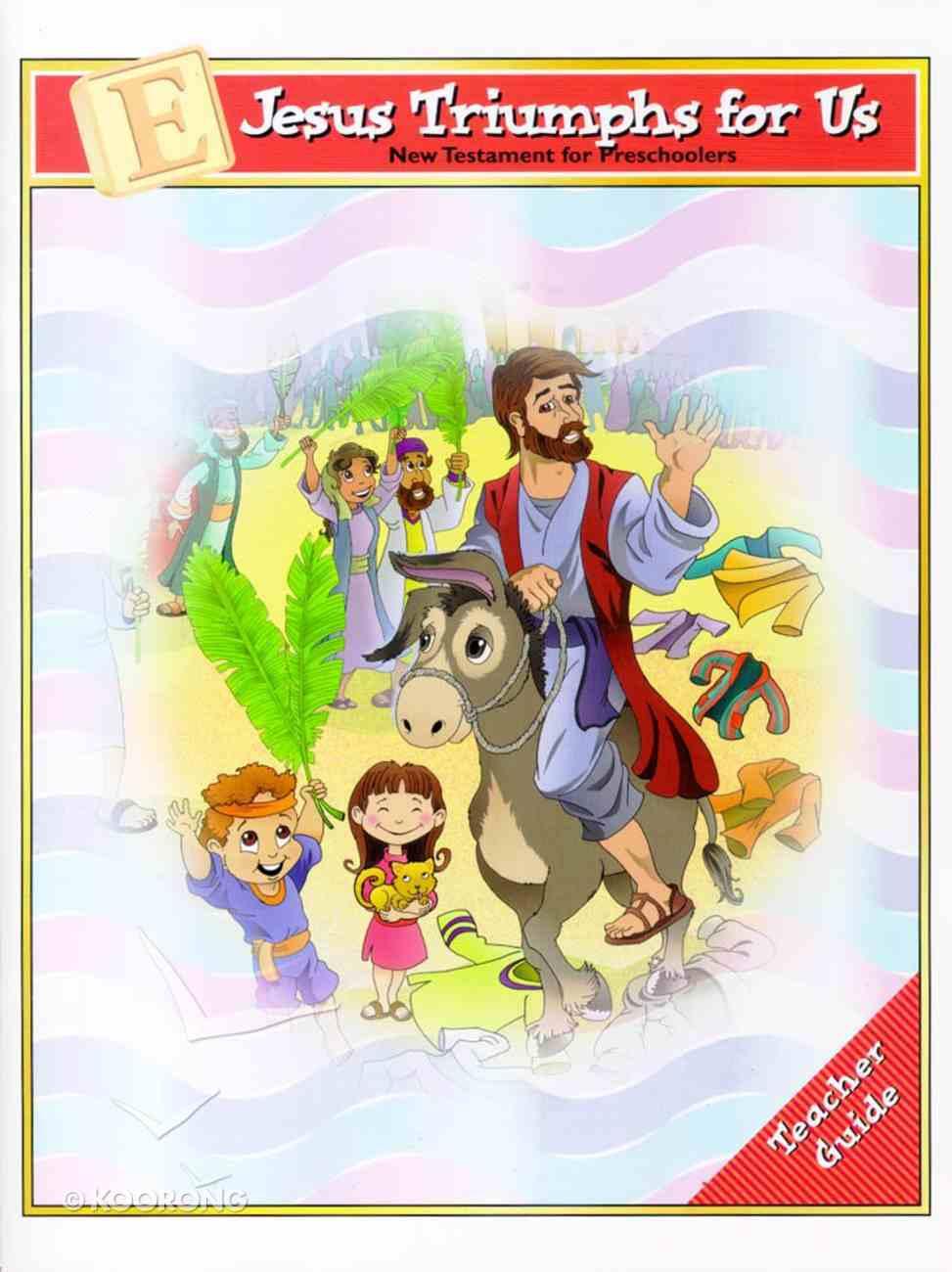 Dlc Preschool: NT, Unit E Ages 2-5 (Teacher) (Discipleland Preschool, Ages 3-5 Series) Paperback