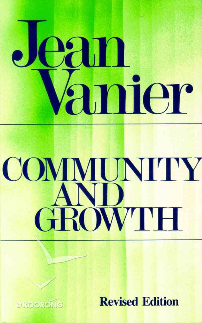Community & Growth Paperback