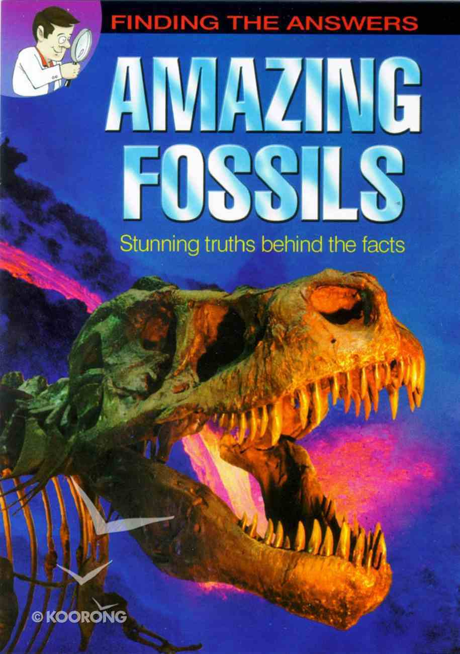 Amazing Fossils (Comic) Booklet