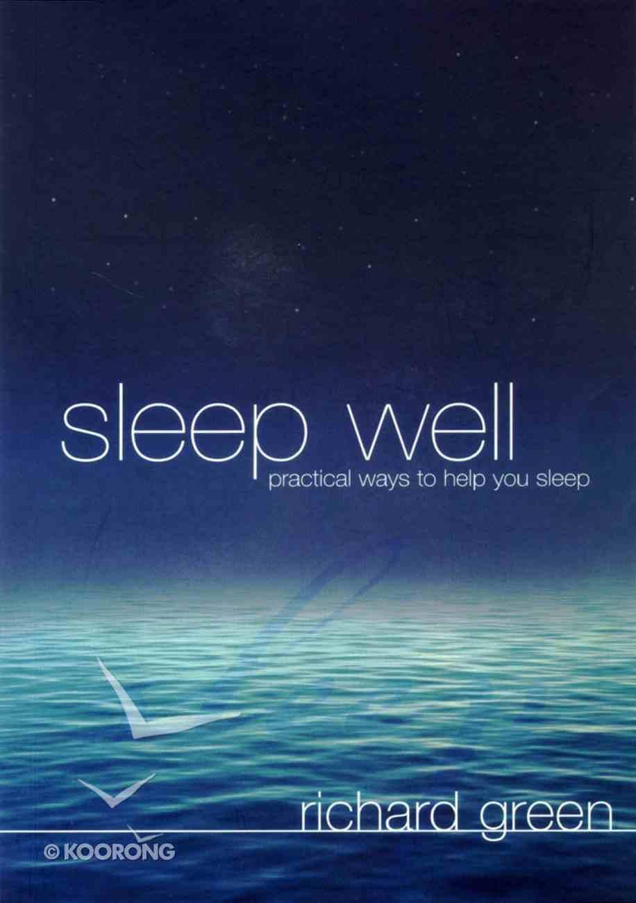 Sleep Well Paperback
