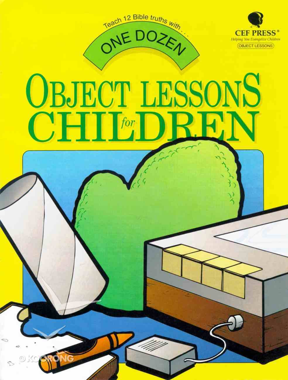 One Dozen Object Lessons For Children Paperback