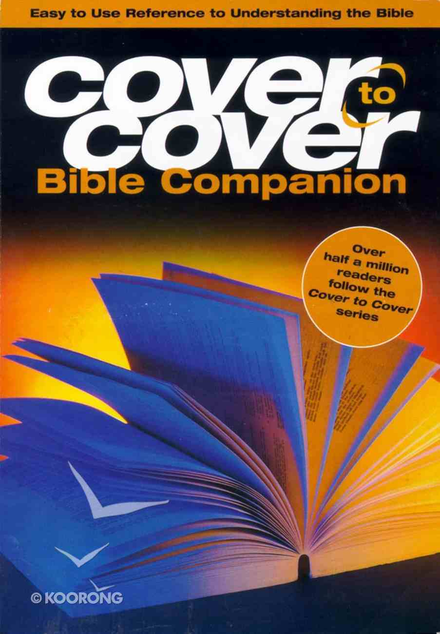 Cover to Cover Bible Companion (With Cdrom) Paperback