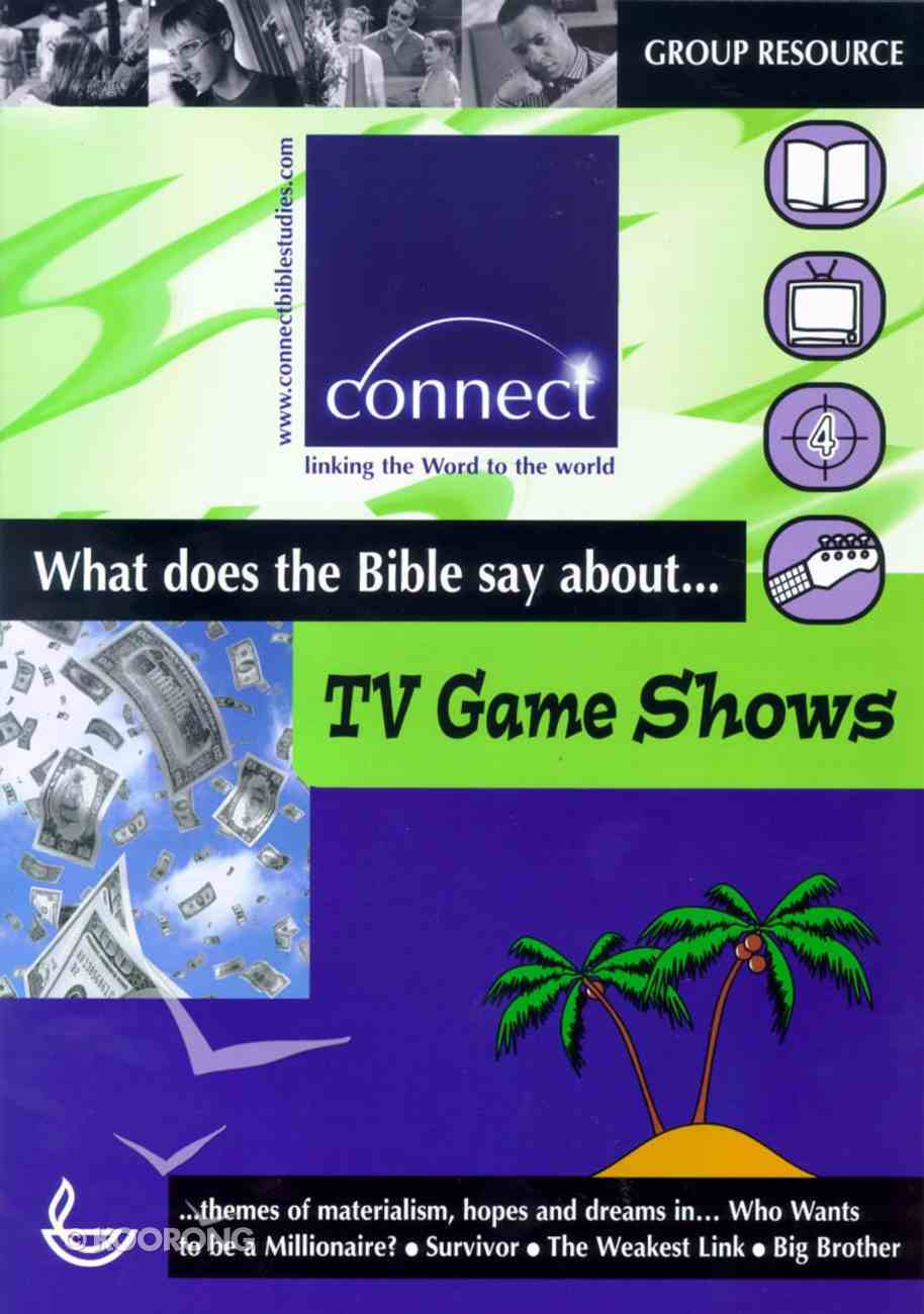 Wdtbsa... Tv Game Shows (Connect Series) Paperback