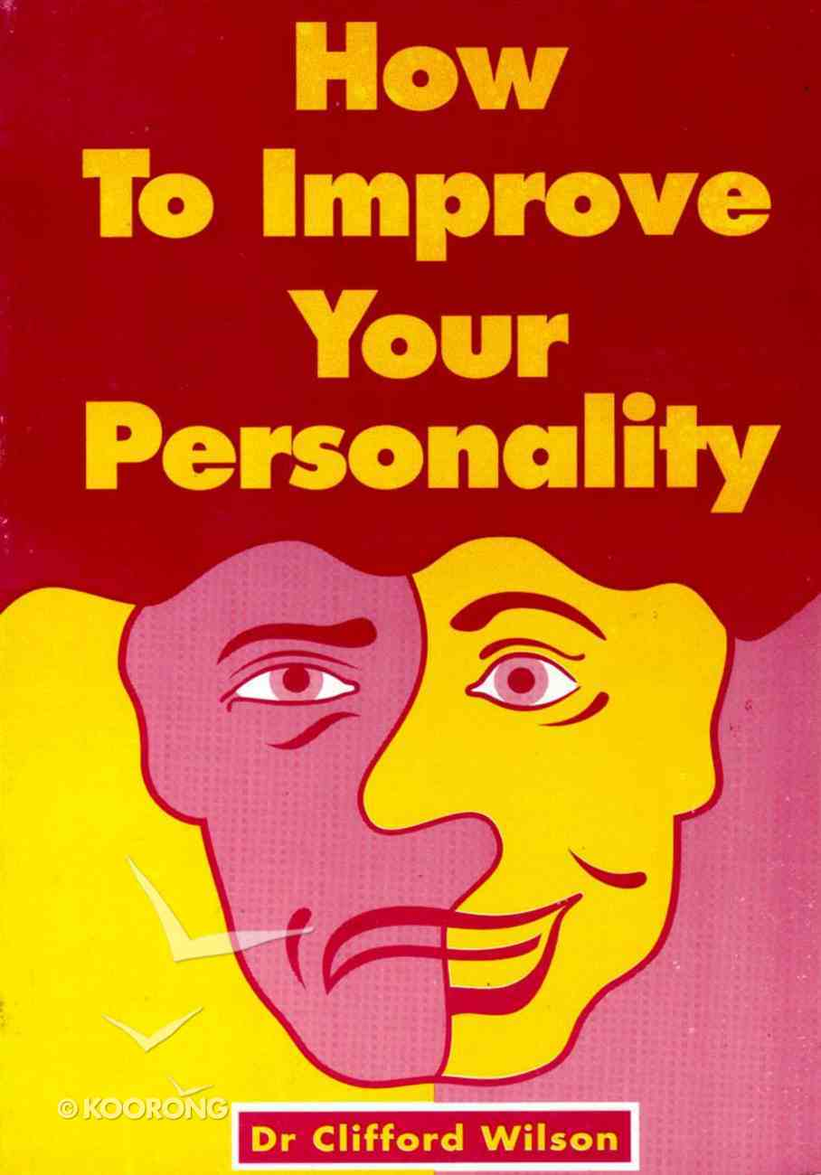 How to Improve Your Personality Paperback
