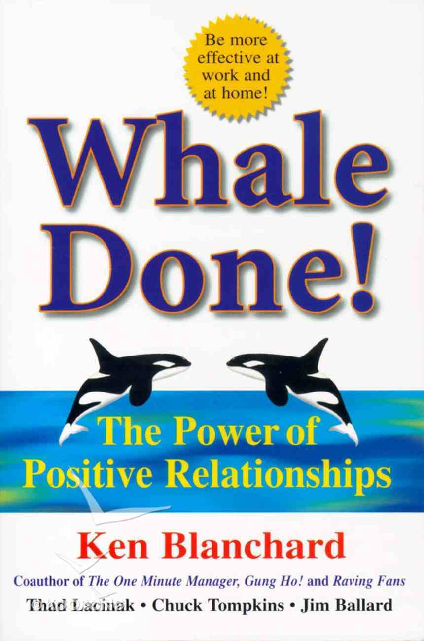Whale Done! Paperback