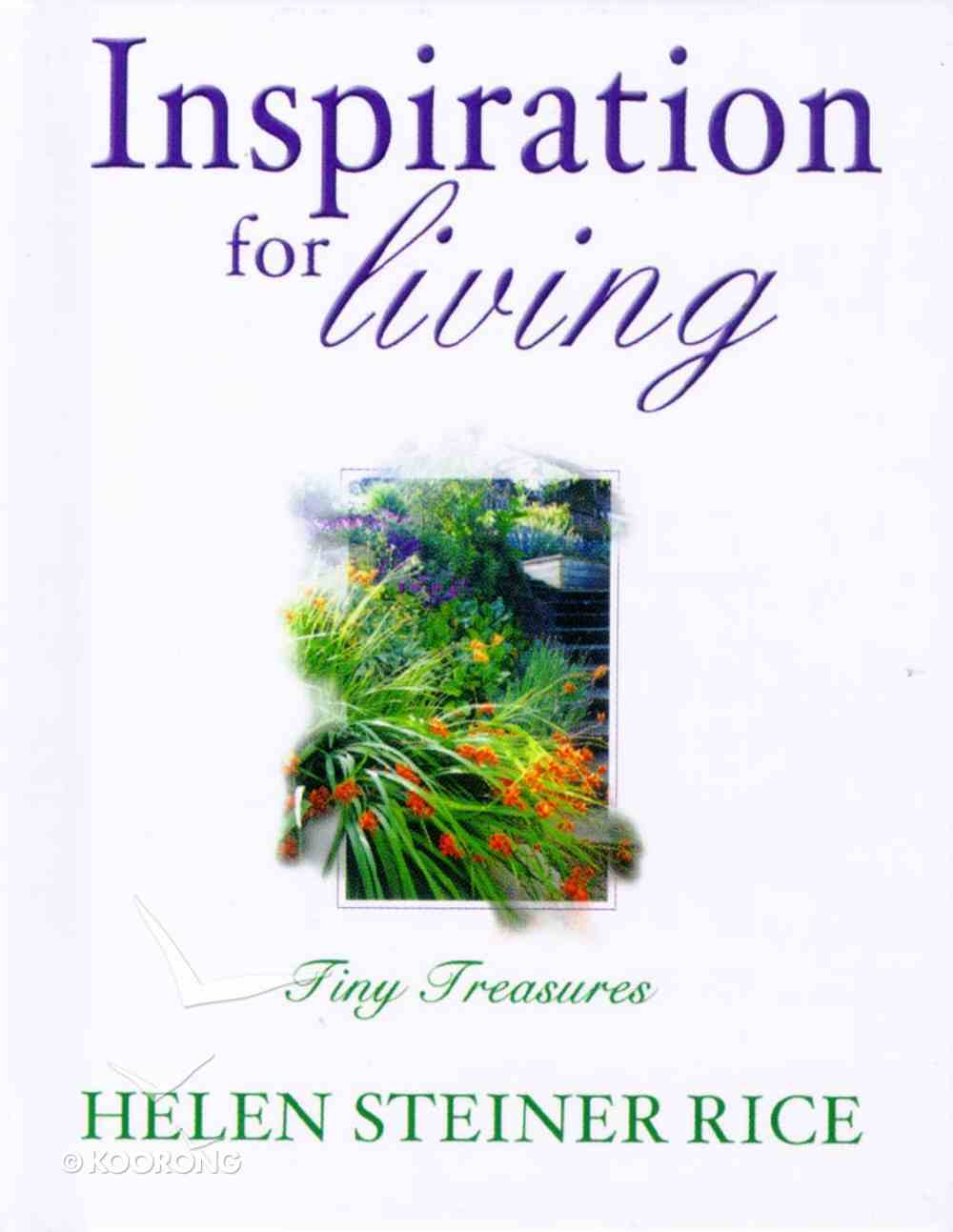 Inspiration For Living (Tiny Treasures Series) Hardback