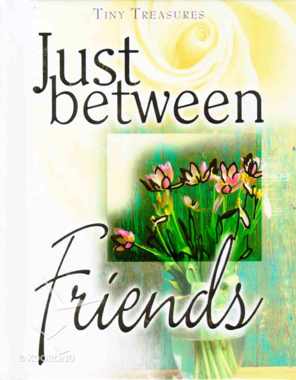 Just Between Friends (Tiny Treasures Series) Hardback