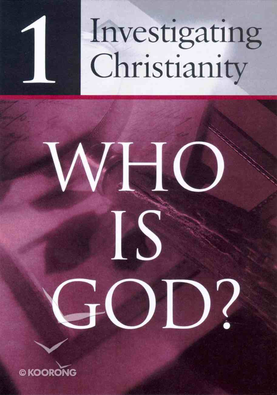 Investigating Christianity (4 Sheet Pack) Booklet