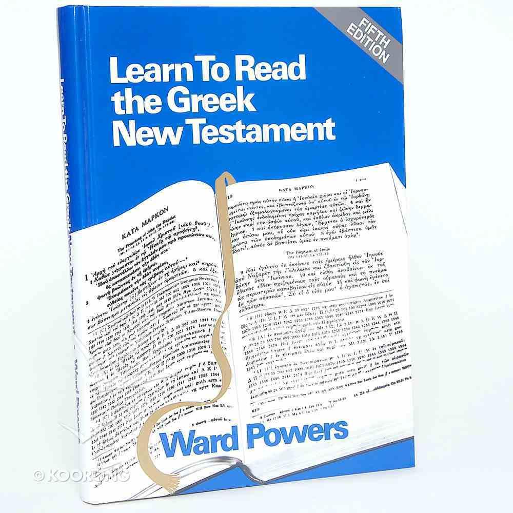Learn to Read the Greek New Testament Set Hardback