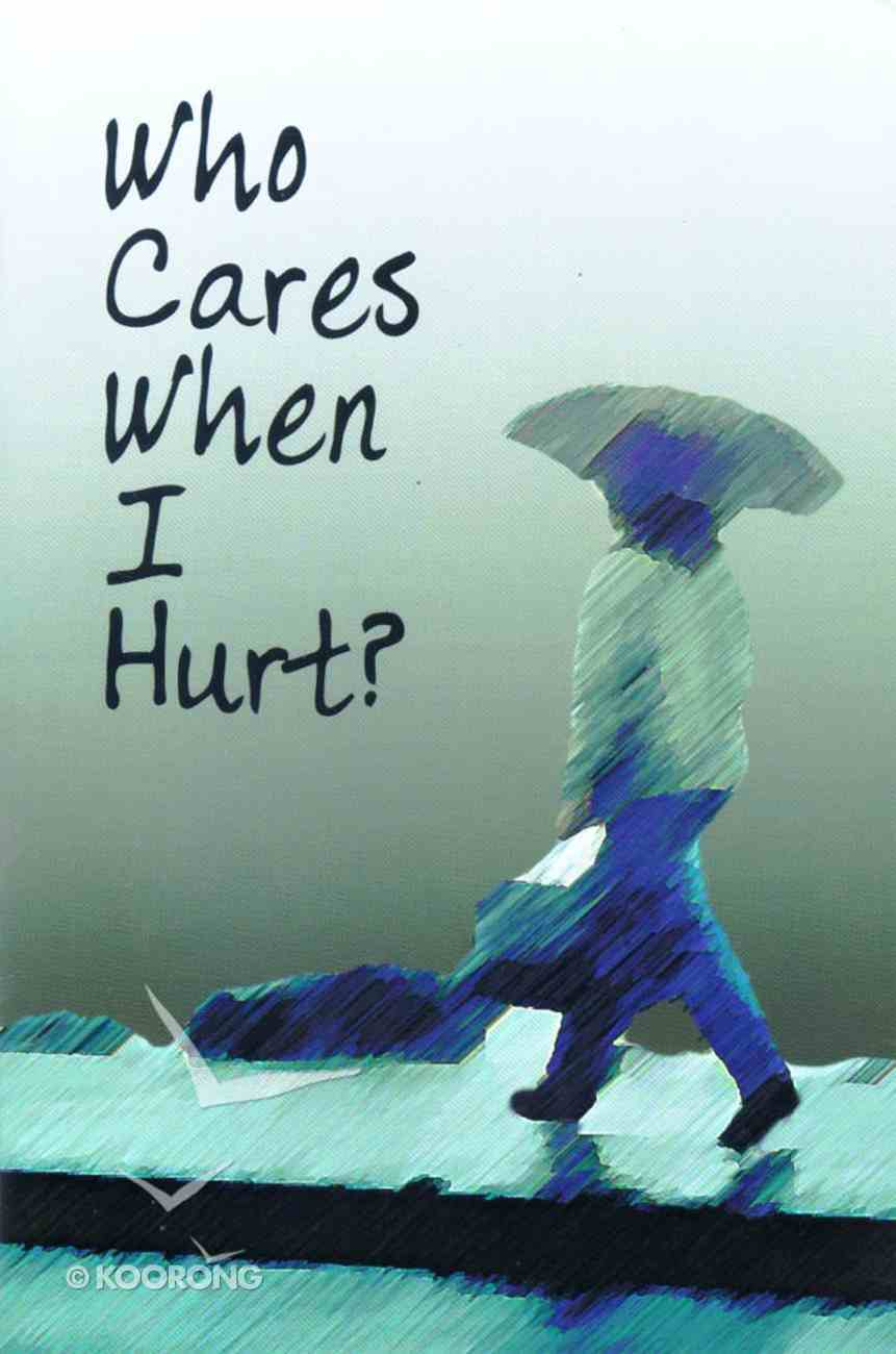 Who Cares When I Hurt? Booklet