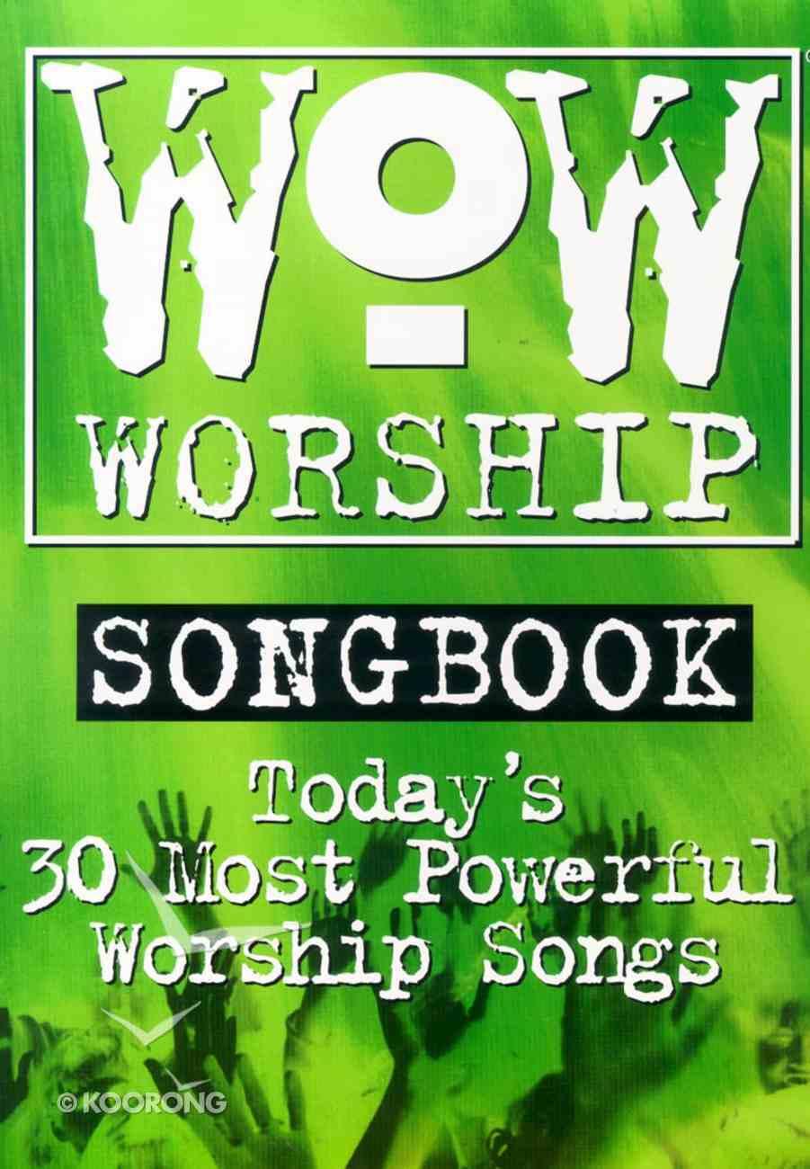 Wow Worship 3 Music Book (Green) Paperback
