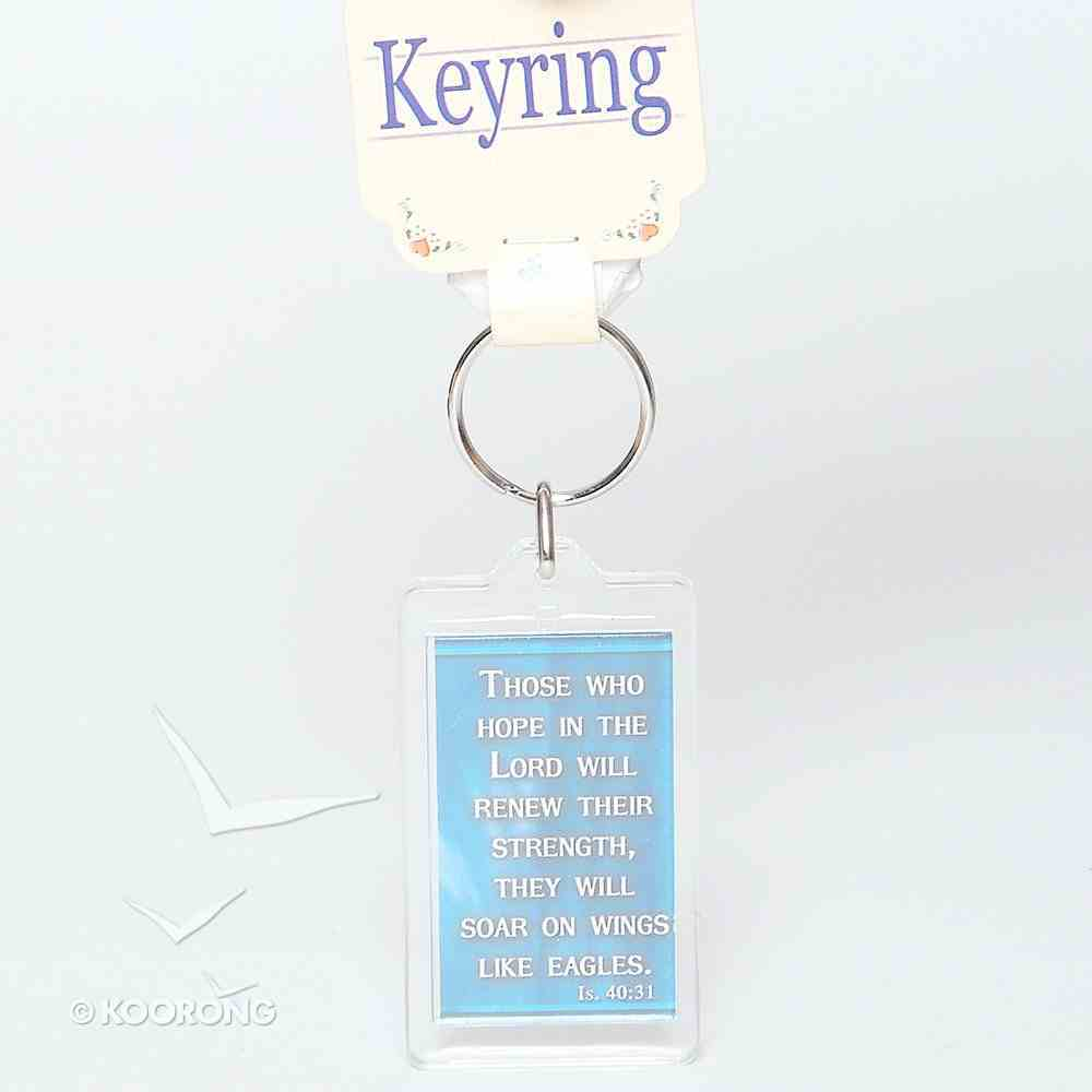 Plastic Keyring: Victory Novelty