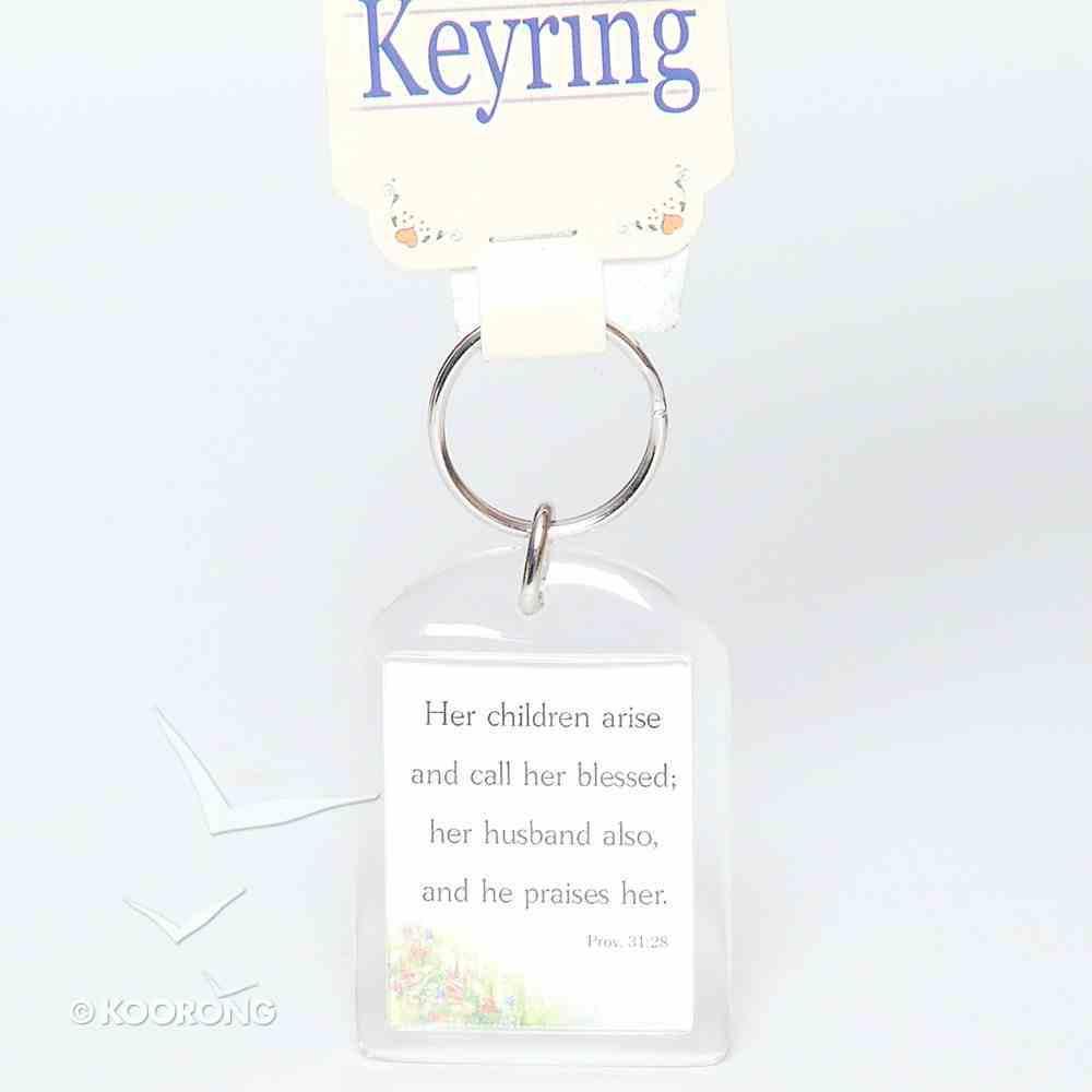 Plastic Keyring: Mother Novelty